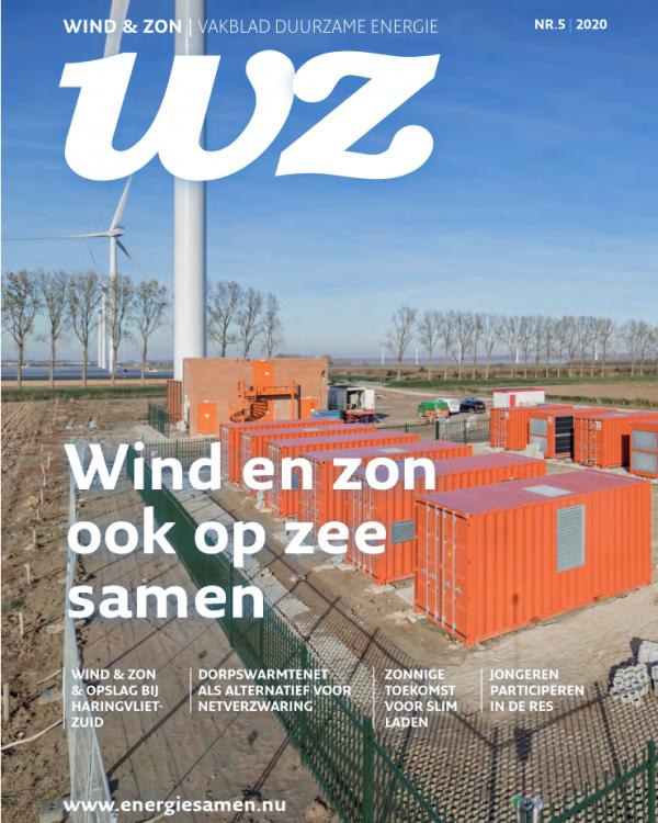 Cover Wind&Zon vakblad 5